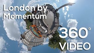'London by Momentum' - GoPro Fusion 360° time lapse