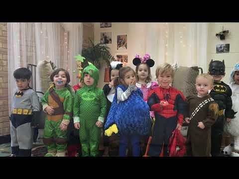 Hellenic Academy Celebrates Halloween