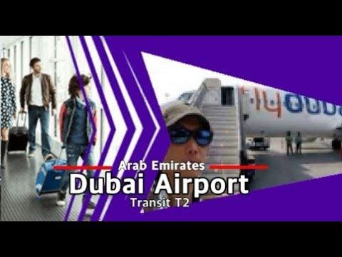 Transit Dubai Airport Terminal2 Flydubai Emirates Dxb Travel مطار ترانزيت دبي ट्रांजिट दुबई एयरपोर्ट