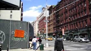 Grand Street at Lafayette Street - New York City