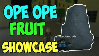 OPE OPE NO MI SHOWCASE IN ONE PIECE PIRATE'S QUEST 3 | ROBLOX ONE PIECE GAME | AXIORE