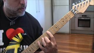 Feel Your Love Tonight Van Halen guitar lesson