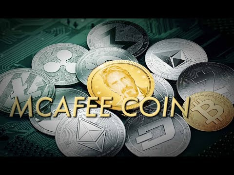 McAfee: Plan To Thwart Govt Control Of Cryptocurrency