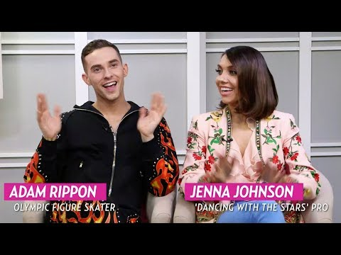 ADAM RIPPON AND JENNA JOHNSON TALK ABOUT THEIR 'DANCING WITH THE STARS' WIN!