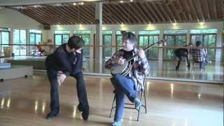 Masters at Play - Stephanie Herman and Bela Fleck - Ballet and Banjo Improvisation