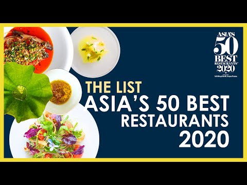 A Guide To Asia's 50 Best Restaurants 2020
