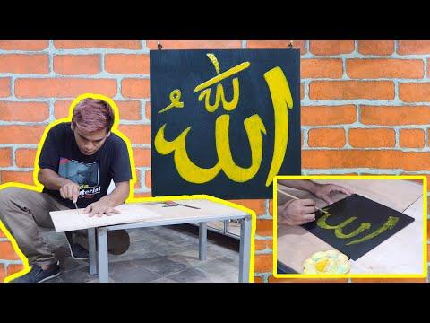 Ide Bisnis - Membuat Kaligrafi Hiasan Dinding || SS Mifada
