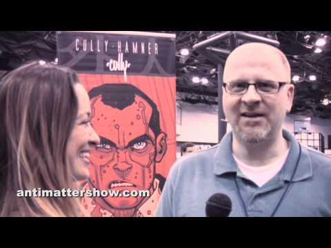"""""""Cully Hamner Talks RED"""" Anti-Matter Extras: NYCC Interviews"""