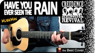 HAVE YOU EVER SEEN THE RAIN ☔ - Creedence Clearwater Revival / GUITAR Cover / MusikMan #164