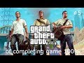 Grand theft auto 5 getting game to 100% ( race,blaze parachuting )  # 5