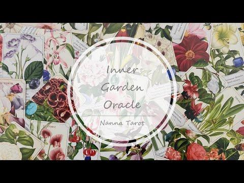 開箱  內在花園神諭卡 • Inner Garden Oracle  // Nanna Tarot