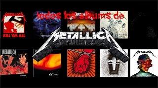 UNBOXING EPICO #2!!!! Todos Los Albums De Metallica ( no los discograficos )