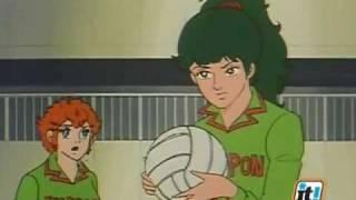 Mila e Shiro,due cuori nella pallavolo - Episodio n.56(1/2)