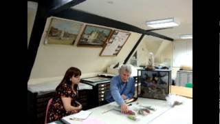 World of Wallace Behind the Scenes - Handling Collection & Bird of Paradise