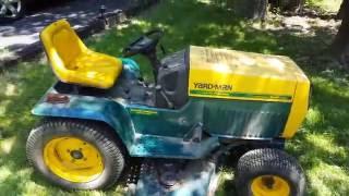 Yard-Man (MTD)/Kohler 22HP Lawn Tractor Overview/Start/Drive