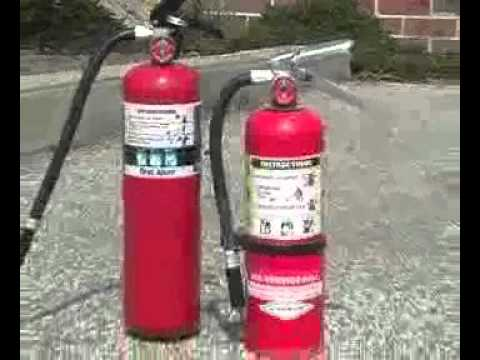 Fire Extinguisher Training - YouTube