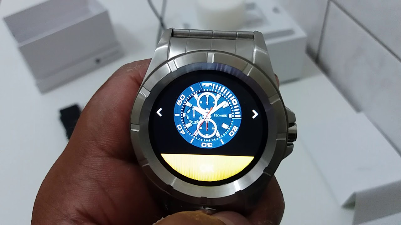 1a7679841b7 TECHNOS CONNECT SMARTWATCH 3.0 2018 - YouTube