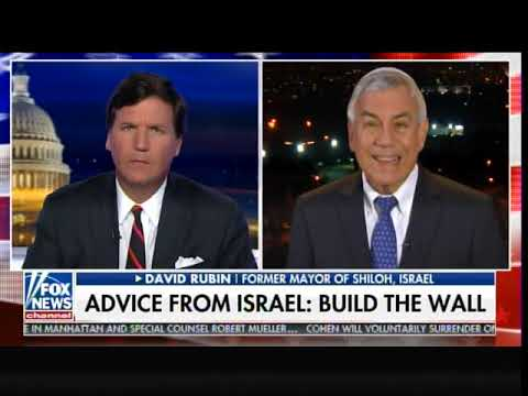Garret Lewis - Israeli Border Wall Cut Down Illegal Immigration In 2017 To ZERO