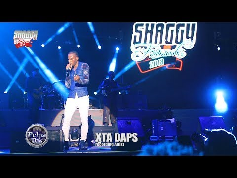 DEXTA DAPS with a good Performance feel good musica at Shaggy & Friends 2018