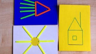 Развивающие занятия для детей 2-3 лет со счетными палочками. Игры без игрушек.(Развивающие занятия для детей 2-3 лет. Играем со счетными палочками. Ребенок раскладывает разноцветные пало..., 2016-03-24T09:44:10.000Z)