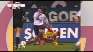 Nostalji Maçlar | Beşiktaş 1 - 2 Galatasaray ( 06.02.1996 )