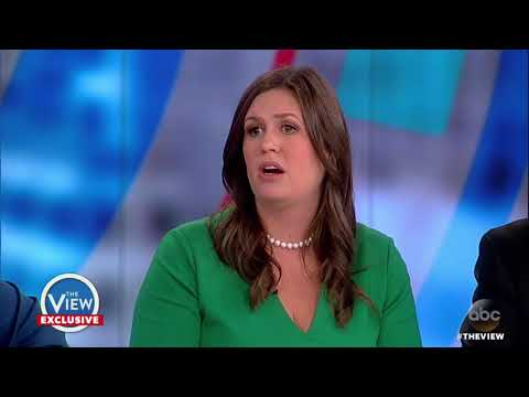 Sarah Huckabee Sanders, Former Gov. Mike Huckabee Talk Trump's Lies, Arpaio Pardon & More | The View