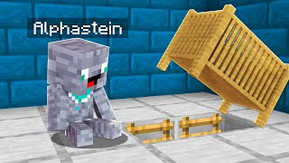 Die GEHEIME BASIS von BABY ALPHASTEIN IN MINECRAFT
