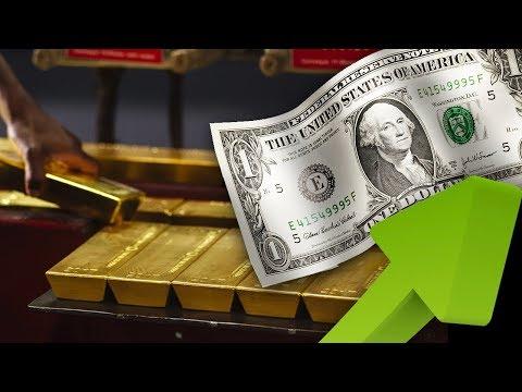 Gold Price Falls As Dollar Index & Bond Yields Climb