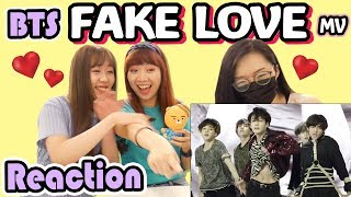 BTS (방탄소년단) FAKE LOVE - Love Yourself轉Tear [Reaction] | Army有嘢港