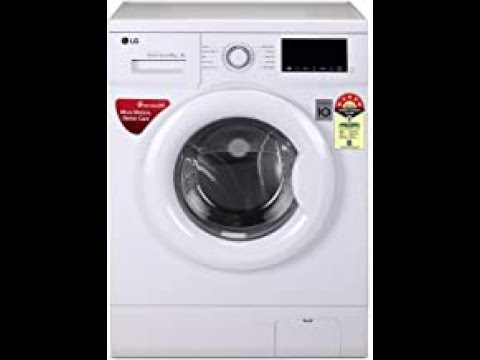LG 6.0 Kg 5 Star Inverter Fully-Automatic Front Loading Washing Machine FHM1006ADW