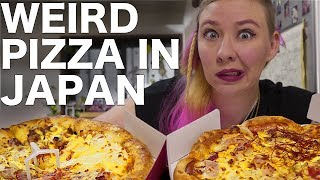 Weird Japanese Pizza
