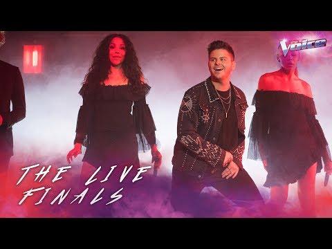 Luke Antony sings Livin' La Vida Loca | The Voice Australia 2018
