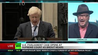Ruling elite in 'state of panic' over Brexit – Galloway