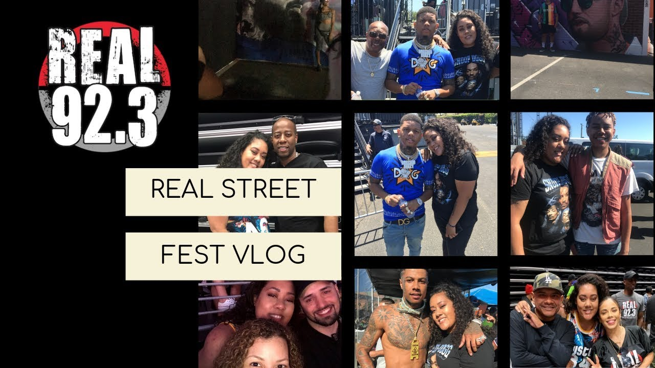 VLOG: REAL STREET FEST IN LA | BLUEFACE, YELLA BEEZY, CARDI B, MIGOS, ASAP ROCKY