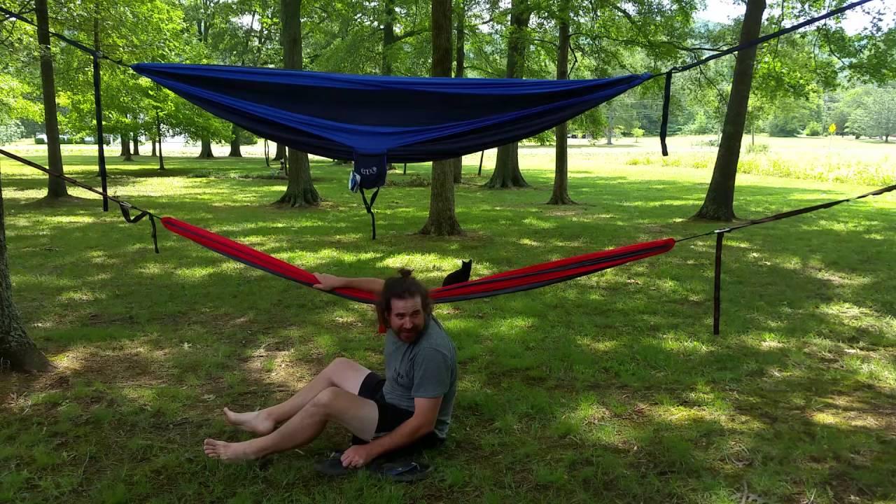 hammock vs double single eno nest deluxe doublenest throughout youtube