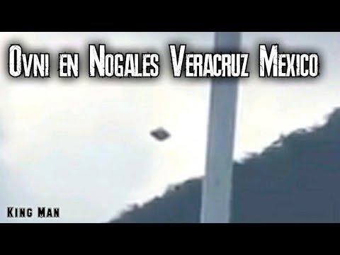 Ovni grabado en el municipio de Nogales Veracruz en México