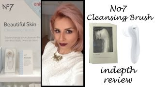 in depth review no7 beautiful skin cleansing face brush
