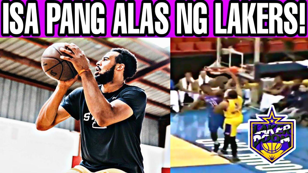 Isa pang alas ng Lakers! Laki ng improvement!