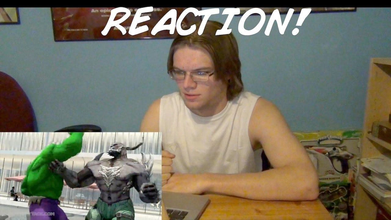 HULK VS DOOMSDAY | DEATH BATTLE REACTION! (DoubleX RXNs ... Doomsday Vs Hulk Death Battle Reaction