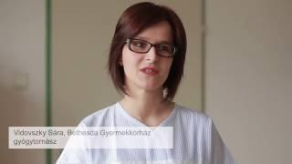 Vidovszky Sára- Bethesda Gyermekkórház