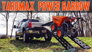 Yardmax Power Wheelbarrow - High Powered Barrow - YD4103