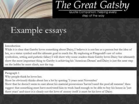 the great gatsby love essay Free essay examples, how to write essay on the great gatsby true love example essay, research paper, custom writing write my essay on gatsby daisy life.