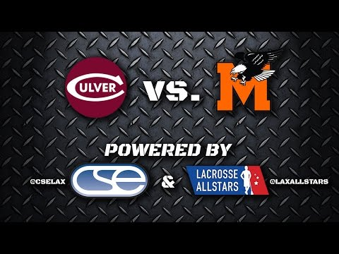 Culver Academy at McDonogh - MIAA Game of the Week