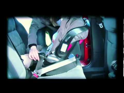 C mo instalar el asiento de beb youtube for Asiento de bebe para auto