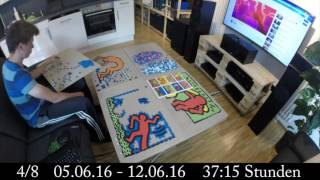 32000 Teile Puzzle Time Lapse Keith Haring Double Retrospect Ravensburger