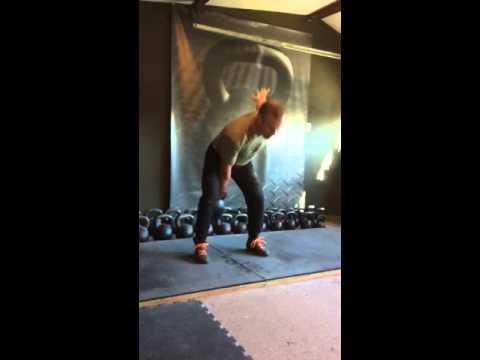 48 kg One Arm Swings PR 174 reps