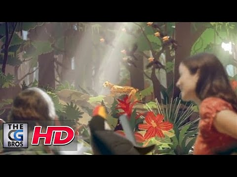 "CGI Promo Spot :  ""Sky's Rainforest""  by - Neon"