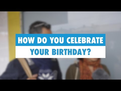 Learn English: How do you celebrate your birthday?