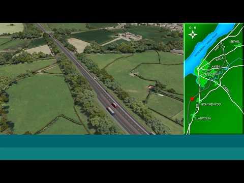 A487 Caernarfon and Bontnewydd Bypass