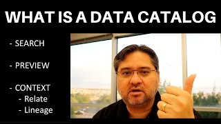 [7.40 MB] What is a Data Catalog - Tech VLOG